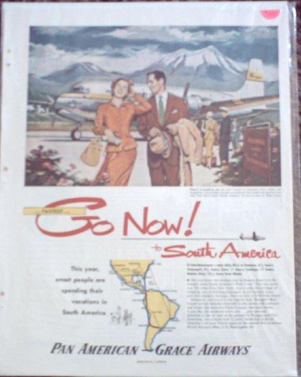 Pan American Grace Airways ad