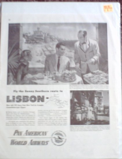Pan American Airlines ad #1