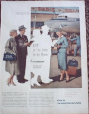 Pan American Airlines ad #3