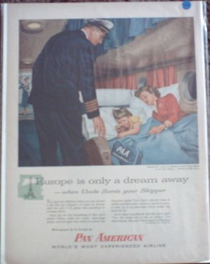 Pan American Airlines ad #6