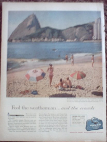 Pan Am Airline ad #7