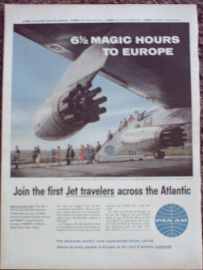 Pan Am Airline ad #8