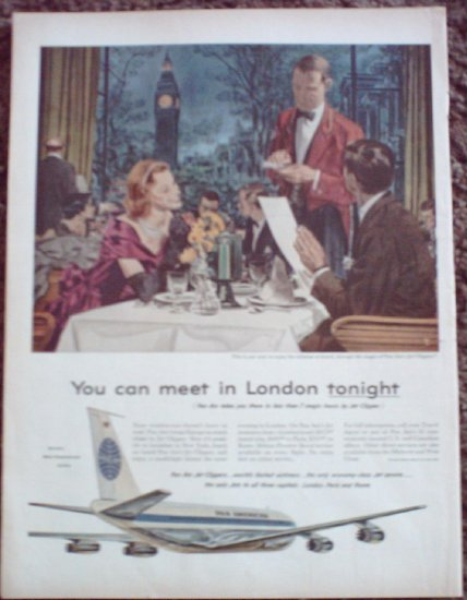 Pan Am Airline ad #10