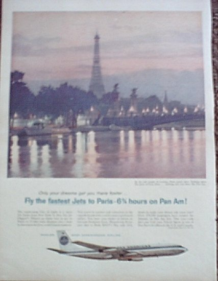 Pan Am Airline ad #12