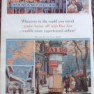 Pan Am Airline ad #15
