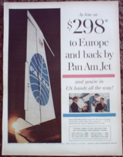 Pan Am Airline ad #17