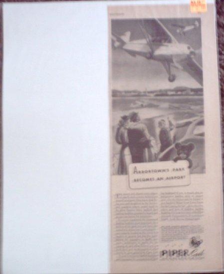 1944 Piper Aircraft ad