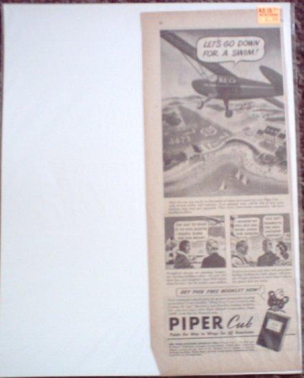 1944 Piper Cub Aircraft ad