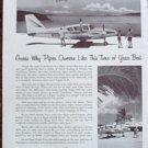 Piper Aztec B Aircraft ad