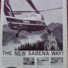Sabena Airlines ad