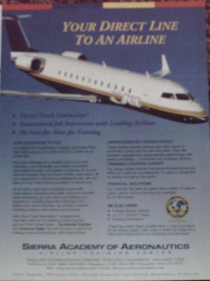 2001 Sierra Airline Training ad