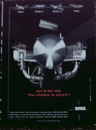 2001 SMA SR305 Aircraft Engine ad