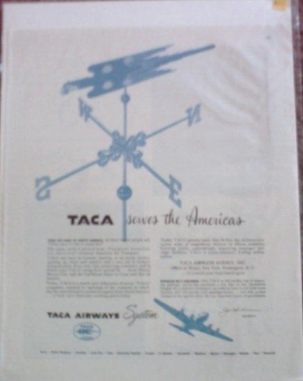 TACA Airways ad #2