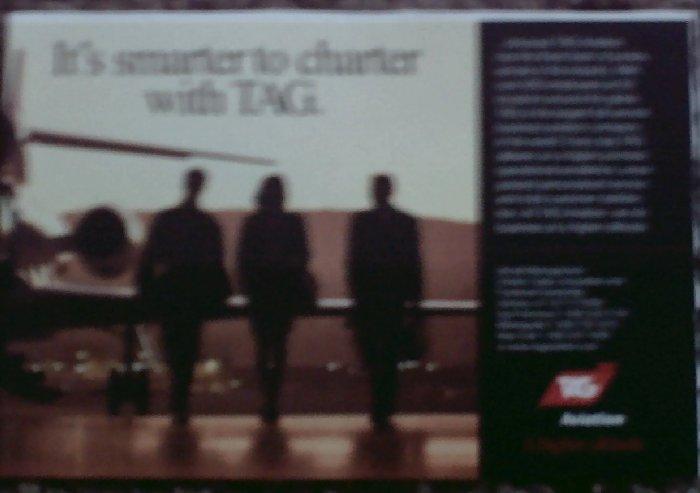 2001 TAG Aviation ad