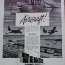1952 Temco Aircraft ad