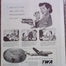 TWA Airlines ad #1