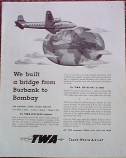 TWA Airlines ad #4
