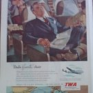 1951 TWA Airlines ad #1