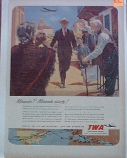 TWA Airlines ad #7