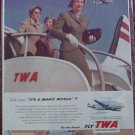 TWA Airlines ad #9