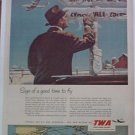 1951 TWA Airlines ad #5