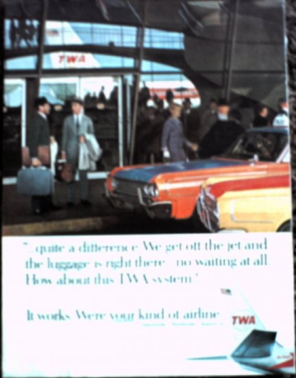 1966 TWA Airlines ad #2