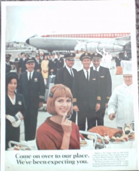 TWA Airlines ad