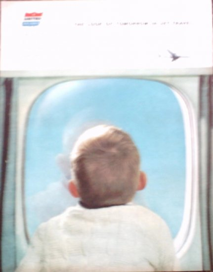 United Airlines DC-8 ad