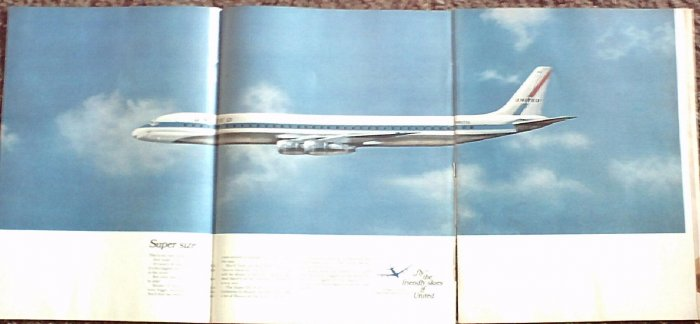 1967 United Airlines ad