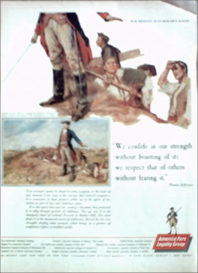 1961 American Fore Insurance ad