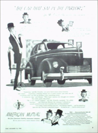 1950 American Mutual Insurance ad