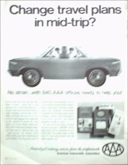 1968 American Automobile Association ad