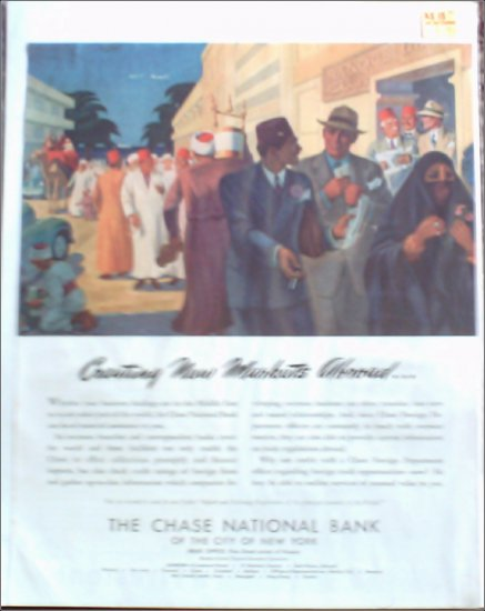 Chase National Bank of New York ad #1