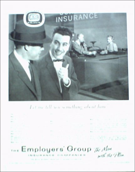 1956 Employers Group Insurance ad
