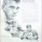 1966 Equitable Life Insurance ad featuring Charlie Conerly