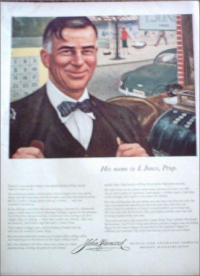 John Hancock Life Insurance ad #1