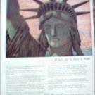 John Hancock Life Insurance Lady Liberty ad