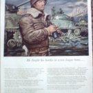 John Hancock Life Insurance ad featuring George S Patton jr