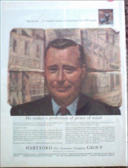 1960 Hartford Fire Insurance ad #1