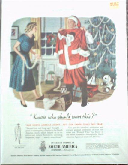 1949 Insurance Company of North America ad