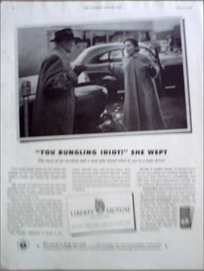 1952 Liberty Mutual Insurance ad