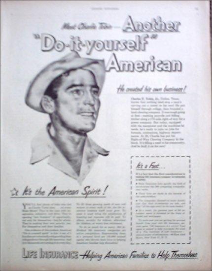 1950 Life Insurance Companies in America ad
