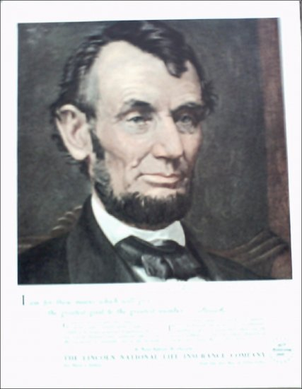 Lincoln National Life Insurance ad #1