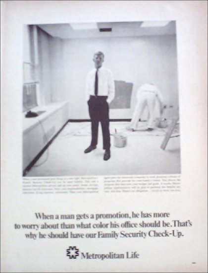 Metropolitan Life Insurance ad #3