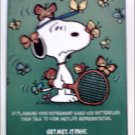 1990 Metropolitan Life Insurance ad featuring Snoopy