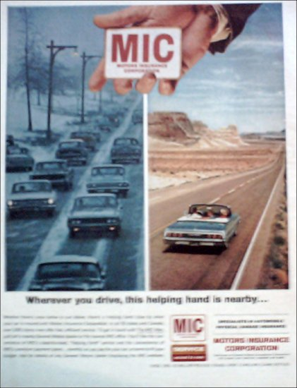 1964 Motors Insurance Corporation ad #1