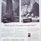 Mutual Benefit Life Insurance ad #1