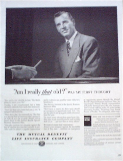 Mutual Benefit Life Insurance ad #2
