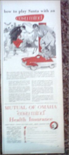 1956 Mutual of Omaha Insurance ad