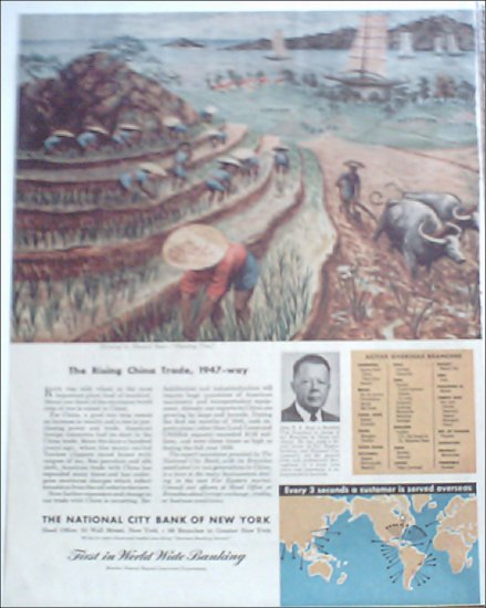 1947 National City Bank Of New York ad #1